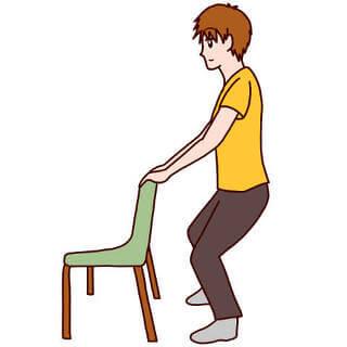 人前での緊張で足が震える対策はスクワット